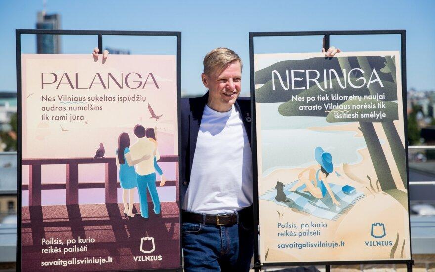 Nauja Vilniaus turizmo kampanija vėl stebina išradingumu: poilsis, po kurio reikės pailsėti?