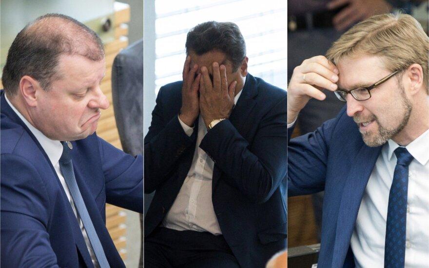 Karštas antradienis nuotraukose: kas išvargino Seimo narius