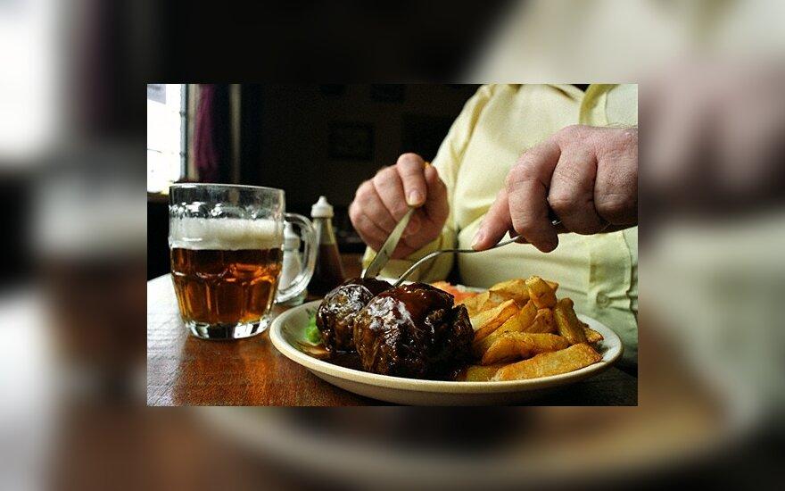 Ekspertai įrodė, kad riebus maistas ir 2 tipo diabetas yra tiesiogiai susiję