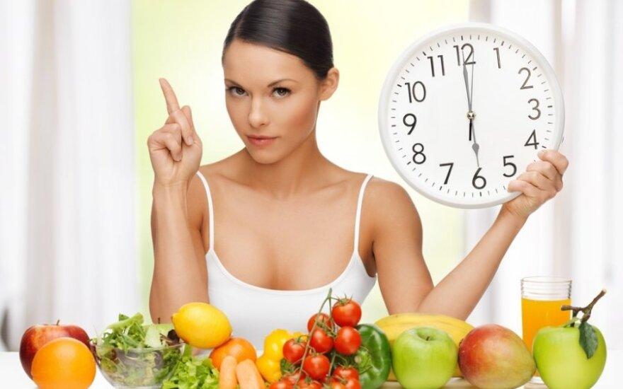 Ką moterys turėtų valgyti, kad numestų svorio