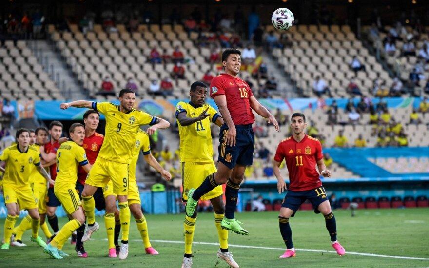 UEFA Euro 2020: Ispanija – Švedija