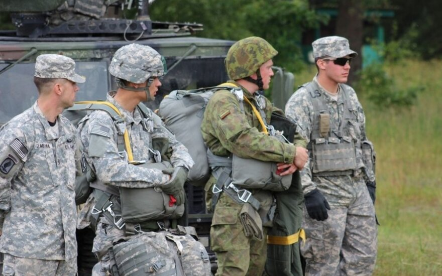 US troops underline NATO commitment during Lithuania visit