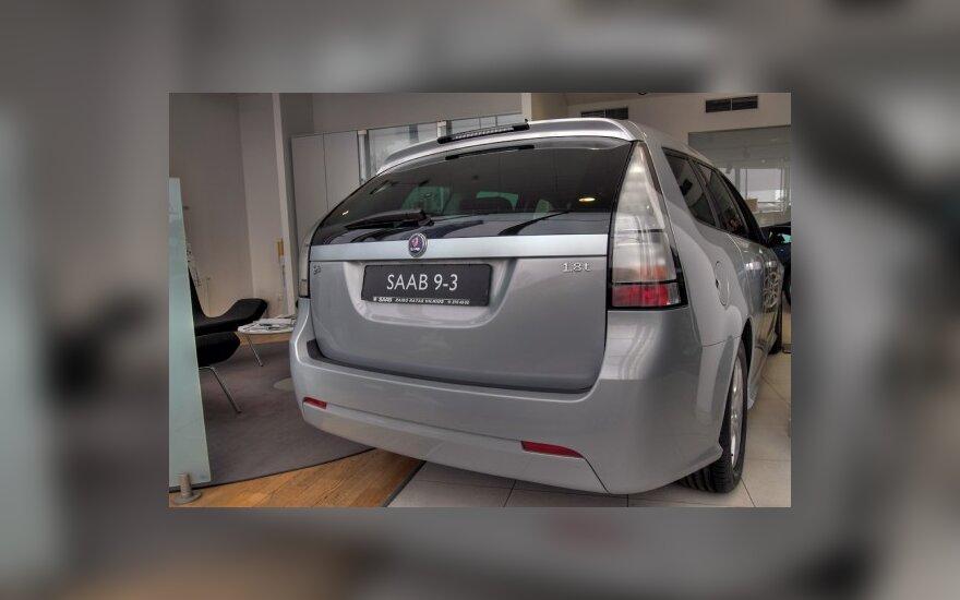 """JAV – """"Saab"""" automobilių deficitas"""