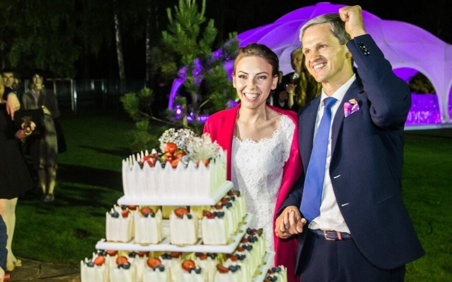 Kaetanos ir Nerijaus Numavičių vestuvių šventės akimirkos