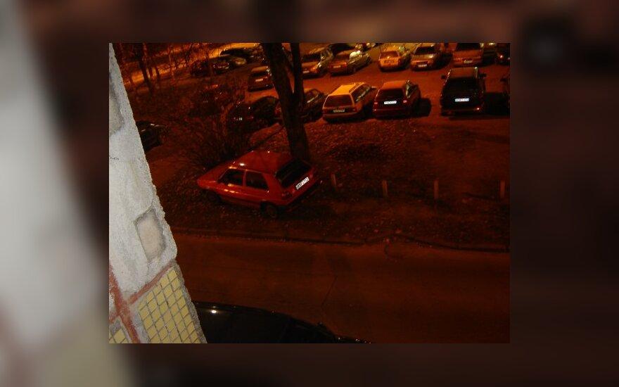 Vilniuje, Buivydiškių g. 9. 2009-11-03, 04.54 val.