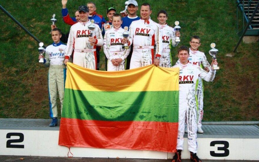 Kazimieras Vasiliauskas - dešinėje (Tomo Markelevičiaus nuotr.)