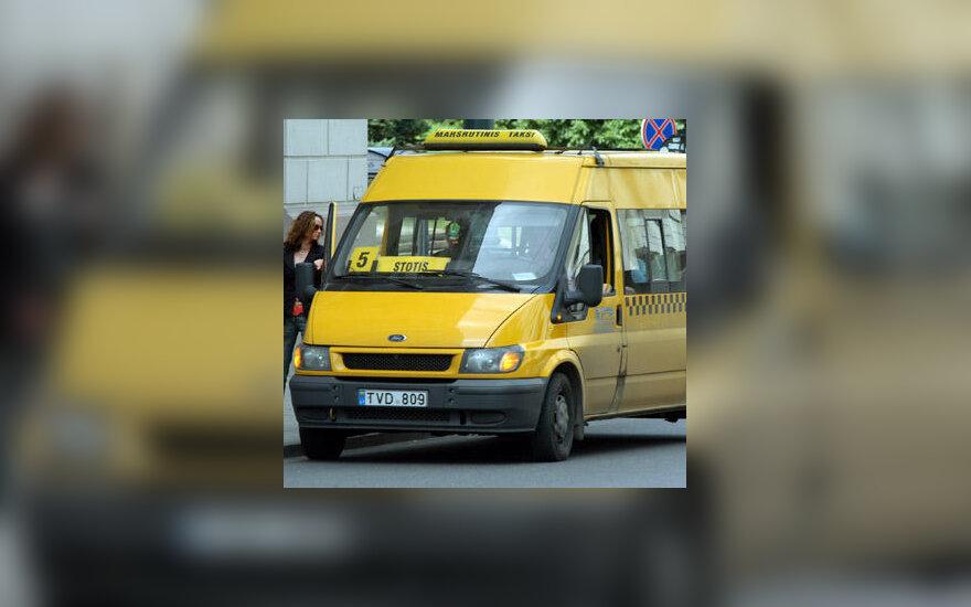 Mikroautobusas, maršrutinis taksi