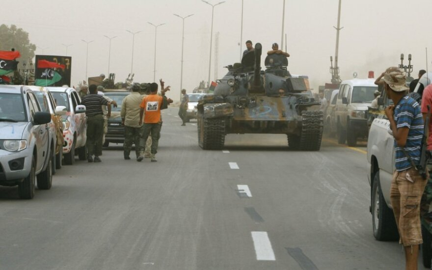 Sirtos puolimas, Libija