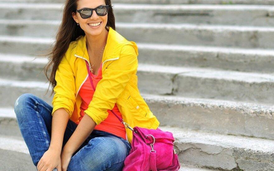 Patarimai, kaip išsirinkti labiausiai sau tinkančias spalvas