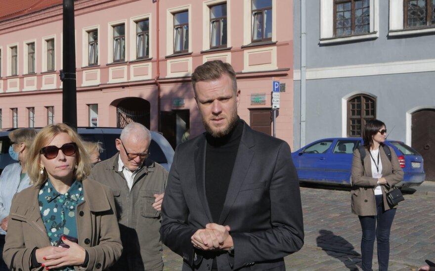 Kaune išankstinio balsavimo eilėje laukia G. Landsbergis