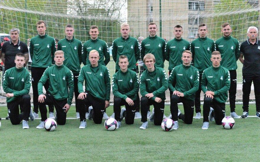 Lietuvos studentų futbolo rinktinė / Foto: LSFL