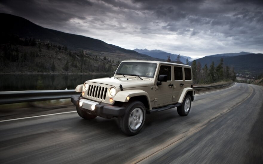 """""""Autobrava"""" pradėjo prekiauti """"Jeep"""""""