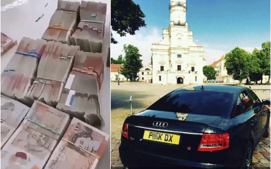Su tokiais numeriais dar visai neseniai į Lietuvą sugrįždavo Anglijoje neaiškia veikla užsiimantys tautiečiai