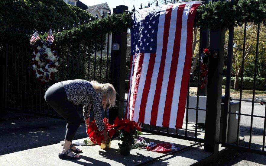 G. H. W. Busho palaikai bus pašarvoti Kapitolijuje Vašingtone