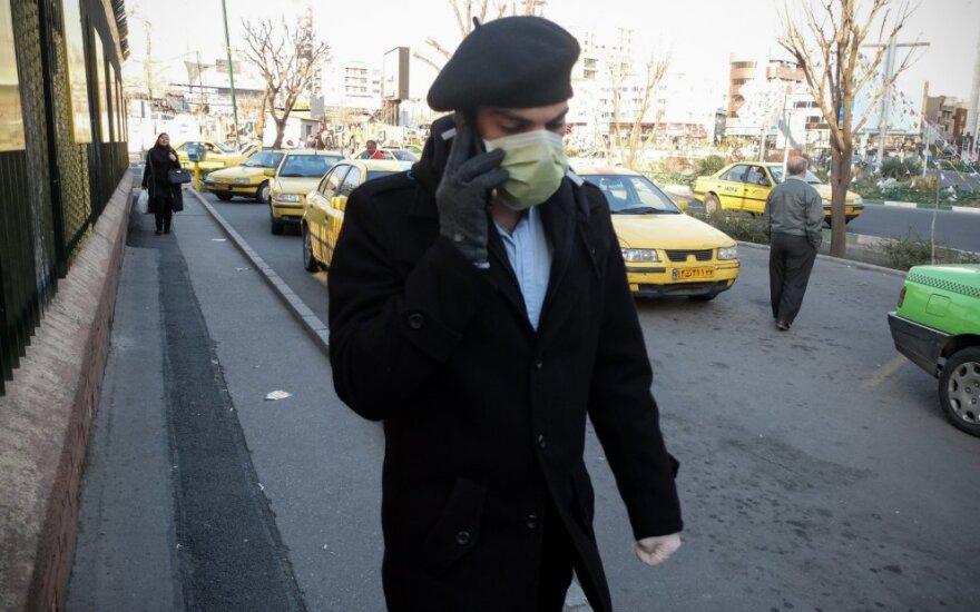 Iranas pranešė apie 17 naujų mirčių nuo koronaviruso atvejų