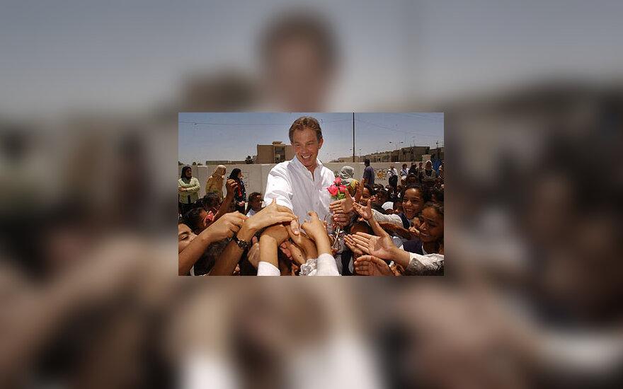 Tony Blairas Irake