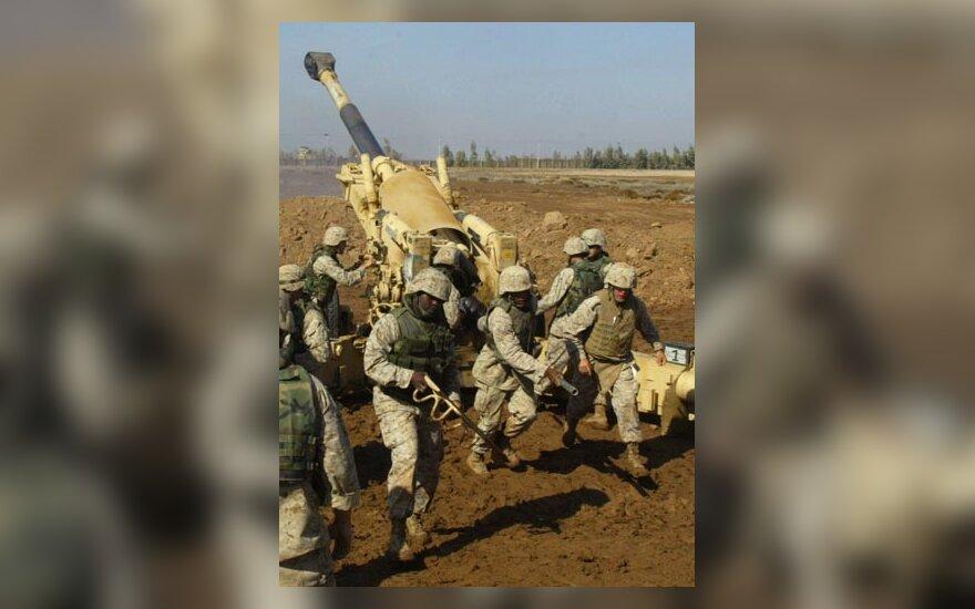 JAV jūrų pėstininkai, JAV pajėgos Irake