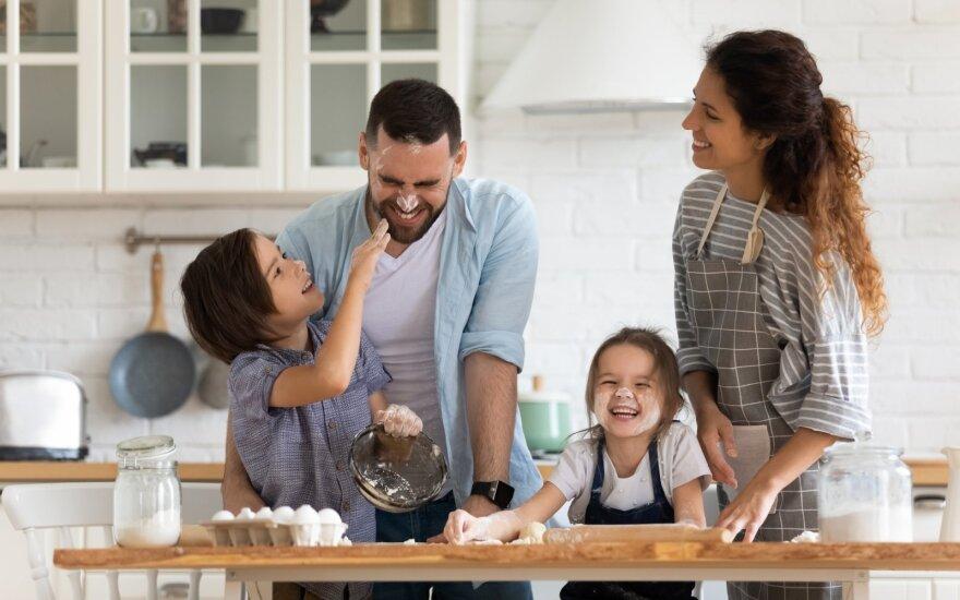 Vaikai – pagalbininkai virtuvėje