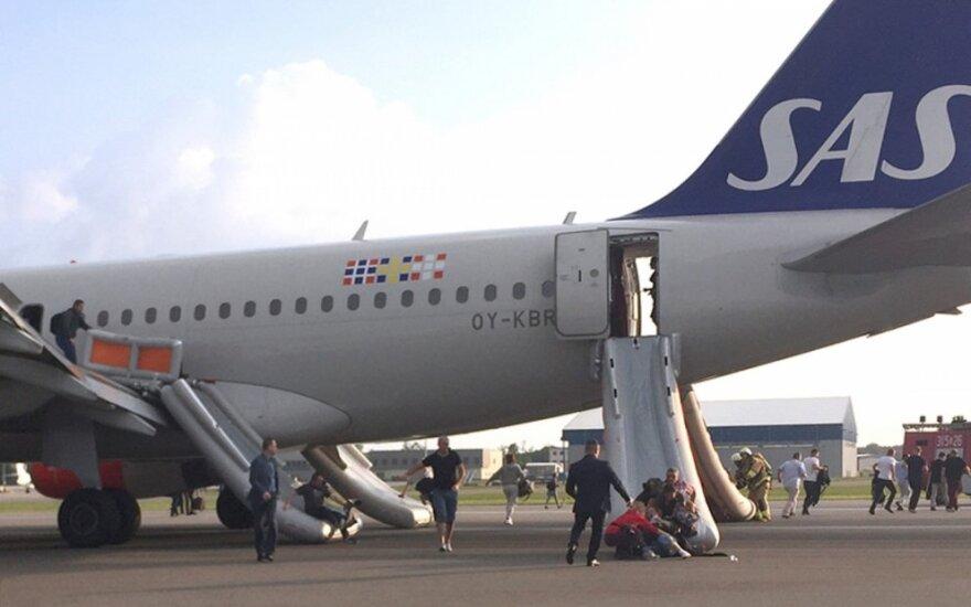 Skandinavijos oro linijų lėktuvas