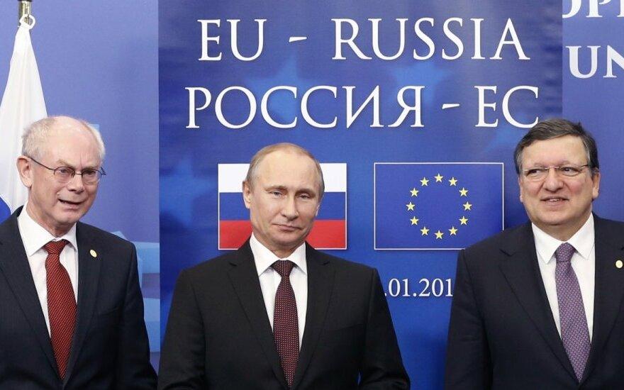 H. Van Rompuy, V. Putinas ir J. M. Barroso