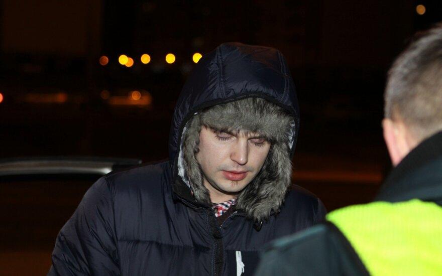 Paskutinis šių metų naktinis reidas Vilniuje: sausio 1-ąją šiam vairuotojui jau grėstų kalėjimas