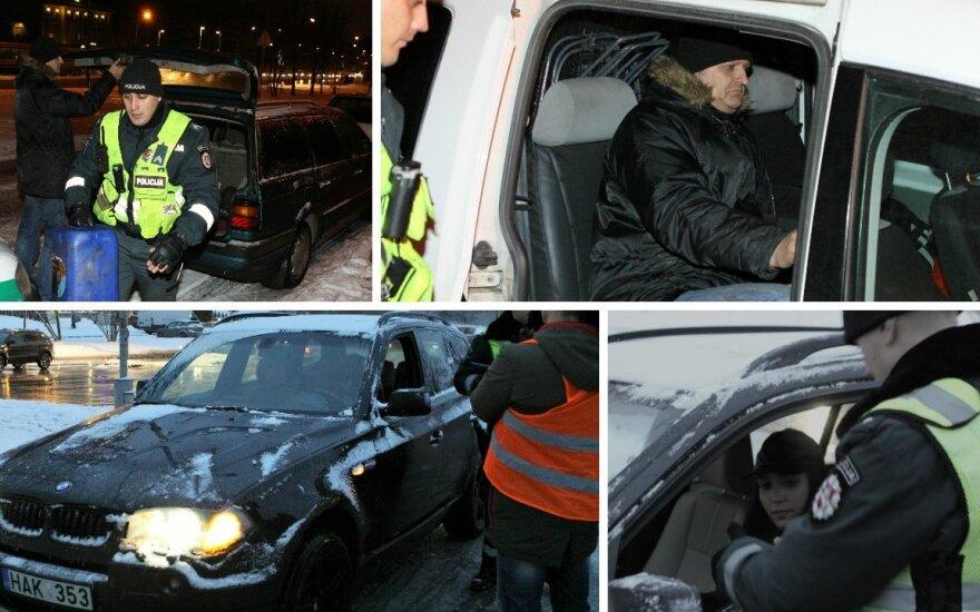 Per valandą Vilniuje įkliuvo 12 greičio mėgėjų, užsienietis nukentės skaudžiausiai