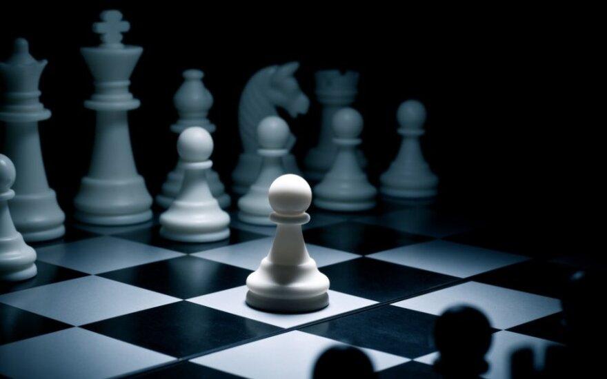 Kaip Rusija laimėjo šachmatų partiją prieš Vakarus