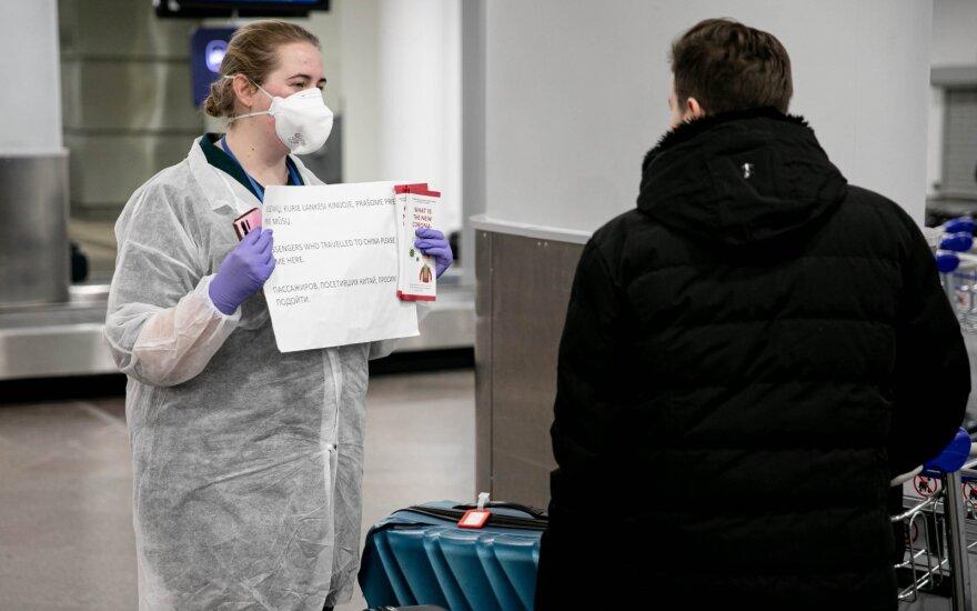 Lietuvos oro uostuose – papildomos priemonės dėl skrydžių iš Šiaurės Italijos keleivių patikros
