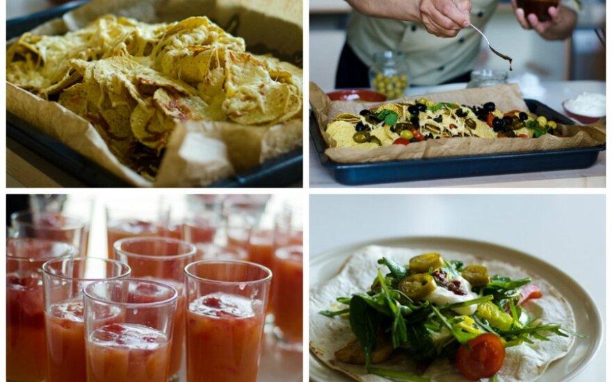 Maisto ir dizaino laboratorijoje virė meksikietiškos kulinarinės aistros