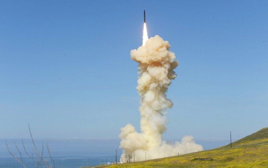 Pentagonas sėkmingai išbandė priešraketinės gynybos sistemą