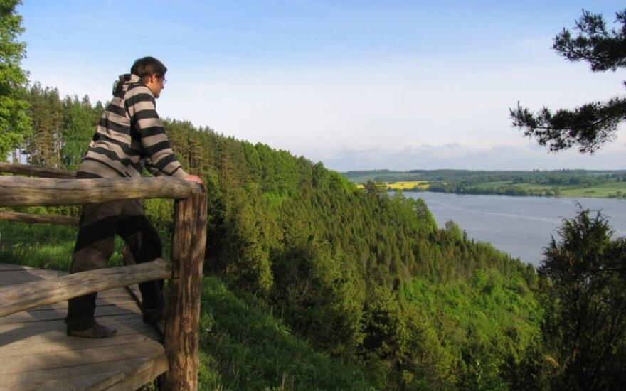 Kadagių slėnis Kauno Marių regioniniame parke