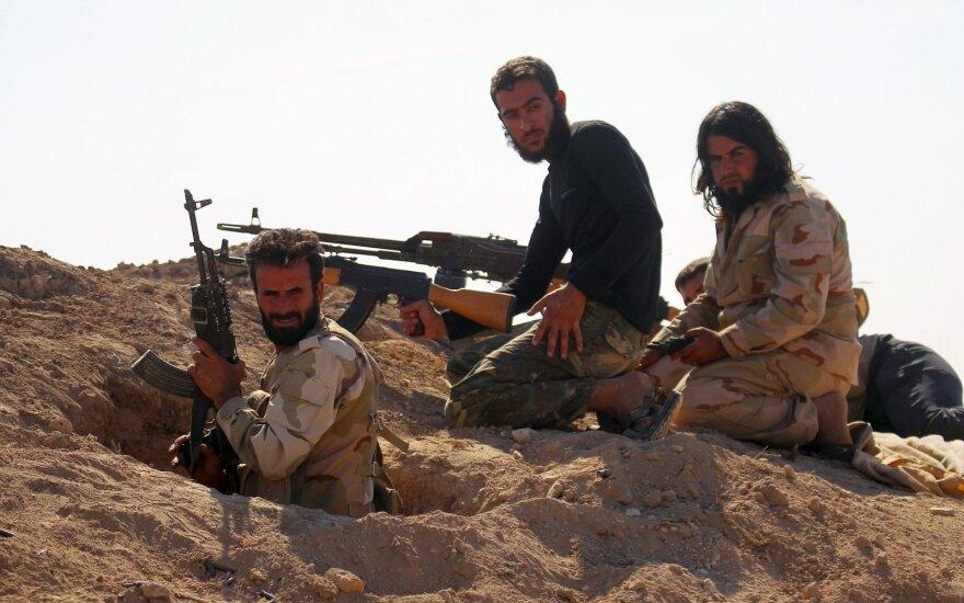 Žiniasklaida: sukilėliai Sirijos pietuose sutiko paskelbti paliaubas