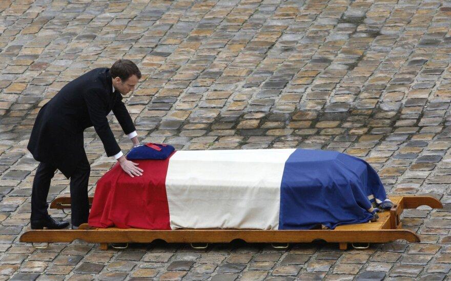 Prancūzija atsisveikina su  Arnaud Beltrame'u
