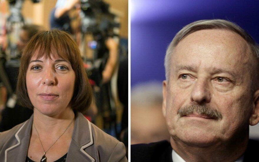 Į kitą Estijos prezidento rinkimų etapą pateko S. Kallas ir M. Reps