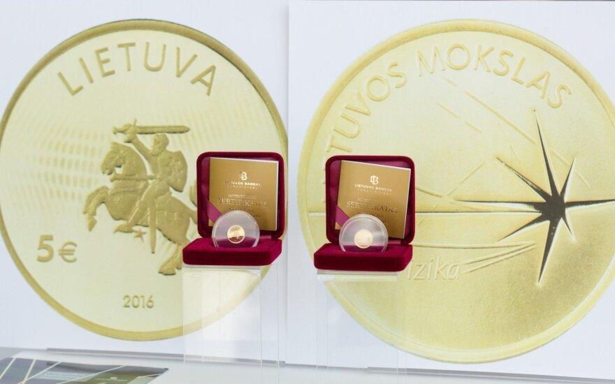 Aukso moneta Lietuvos fizikos mokslui