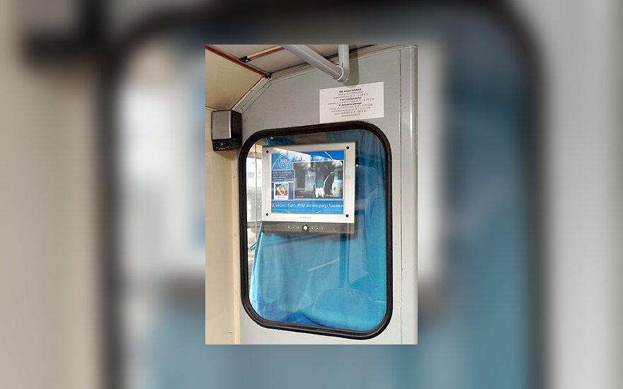Skaitmeninė televizija troleibuse