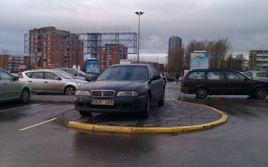 Klaipėdoje, Taikos pr. 2012-01-06