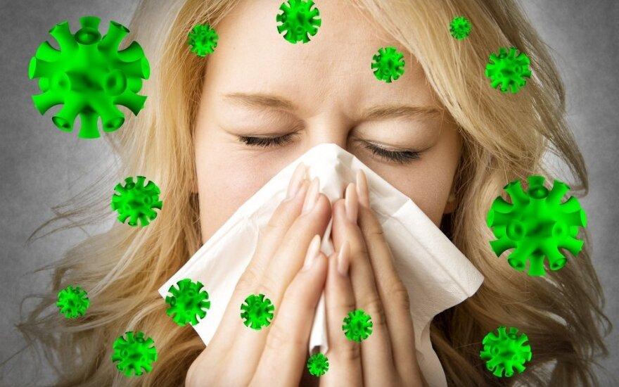 Gripo išvengti padės keli įpročiai