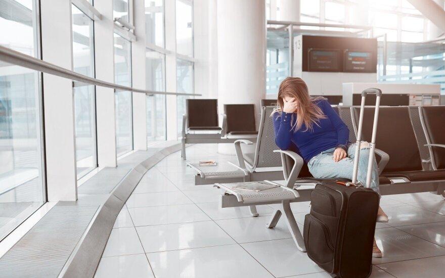 Patarimai ką daryti, jei jūsų skrydis buvo atšauktas, vėlavo ar neatvyko