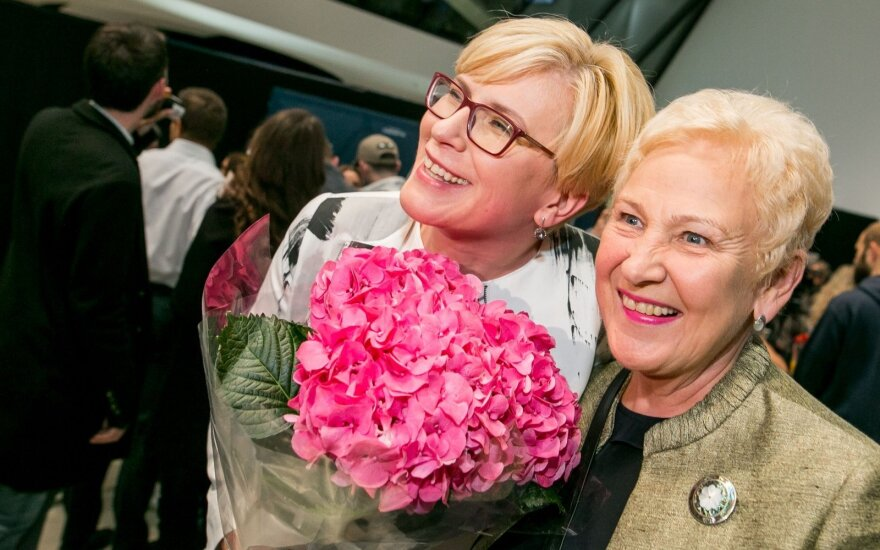Ingrida Šimonytė ir Irena Degutienė
