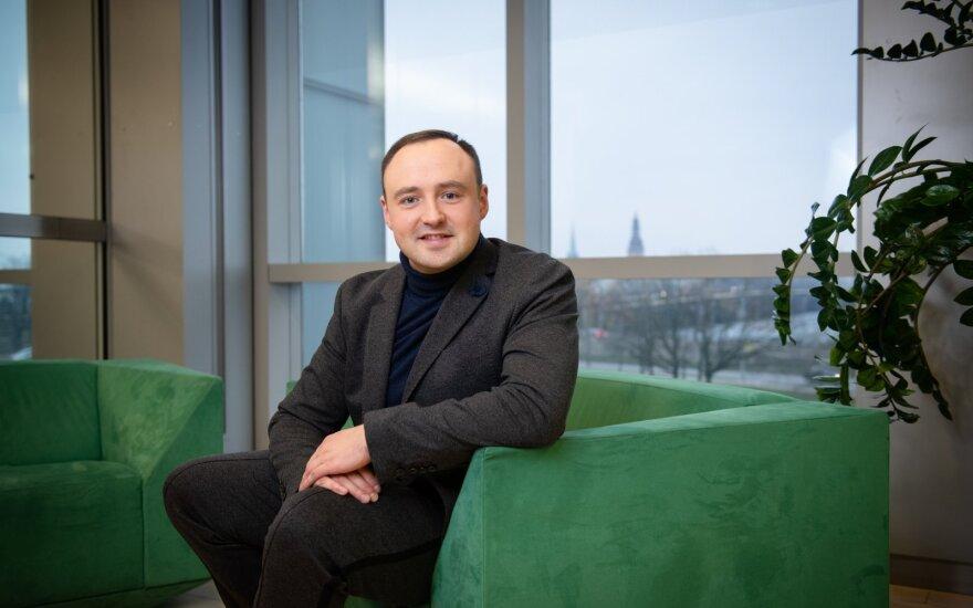 """Paskolų palyginimo platformos """"Altero"""" vadovas Arturs Kostins"""