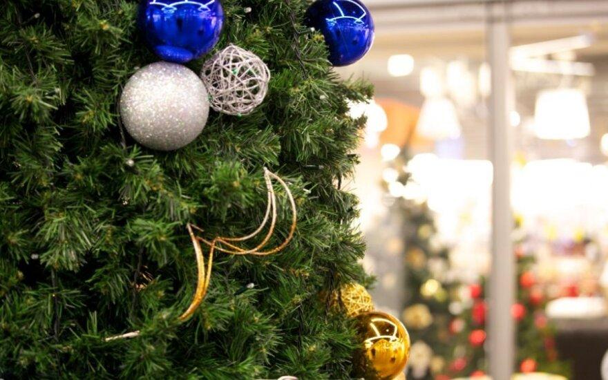 Kalėdinės eglutės keliasi į internetą