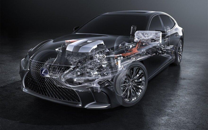 """""""Lexus"""" hibridinė technologija"""