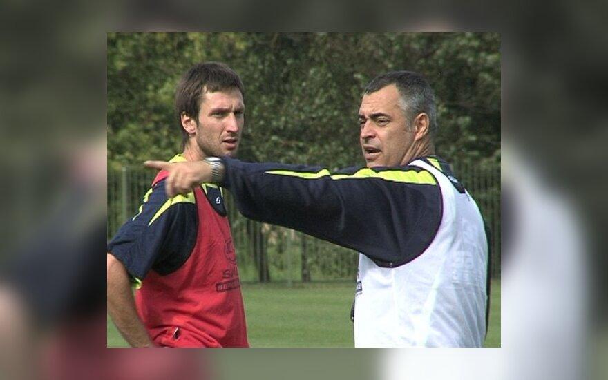 Deividas Šemberas ir Jose Couceiro