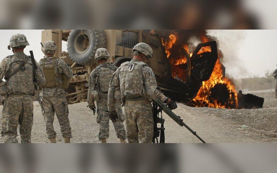 Afganistane per teroro aktą žuvo JAV kariškiai