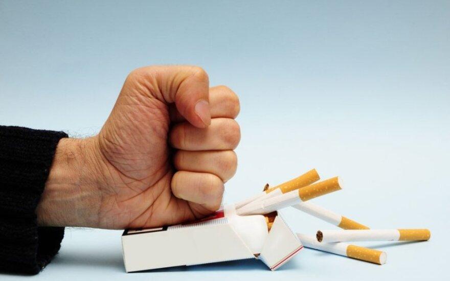 Kodėl vokiečiai trukdo Europai uždrausti mėtines ir plonas cigaretes?