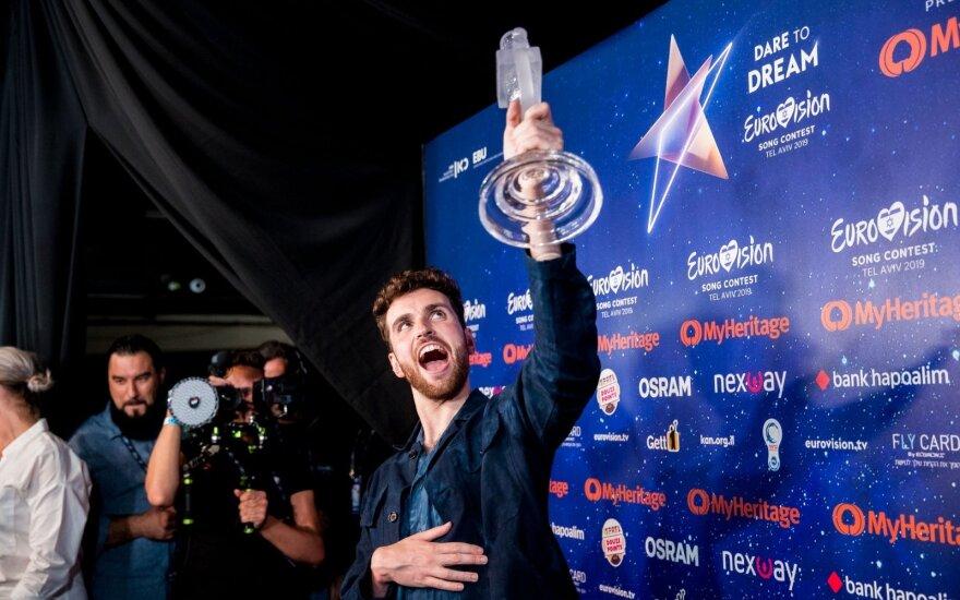 """Po koronaviruso grėsmės """"Eurovizijai"""" – organizatorių pareiškimas"""
