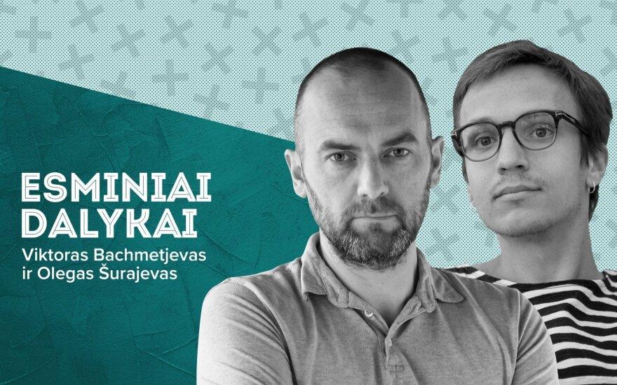 Viktoras bachmetjevas ir Olegas Šurajevas