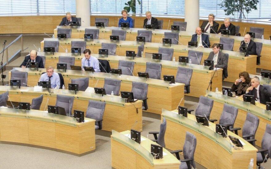 E. Masiulis: jeigu nereikia elektroninio balsavimo, tai nereikia ir tiek Seimo narių