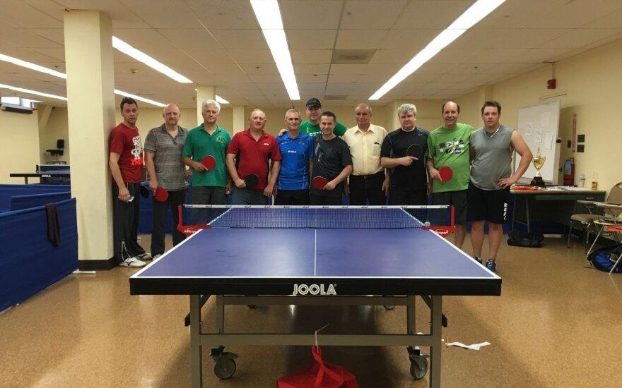 Amerikos lietuviai stalo teniso varžybos